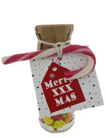 Kerst snoepflesjes 103 Merry XXX Mas  v.e 3