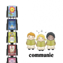 Communie hele serie incl. display, topkaart, backcards
