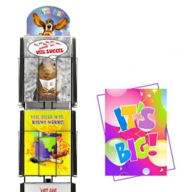 It`s Big hele serie incl. display, topkaart, backcards
