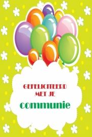 Communie - Vak 103