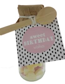 Snoepflesje 110 Sweet Birthday wishes  v.e 3