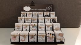 complete display Jillz doosjes + topkaart