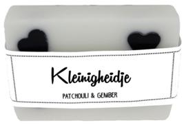 117 luxe zeep met hartjes 6x8 cm Patchouli & Gember Kleinigheidje v.e 3