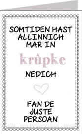 Friese kaarten Jillz/GH 11x17 - Vak 144