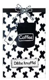 Tasje Koffie en Merci - 108 Dikke knuffel