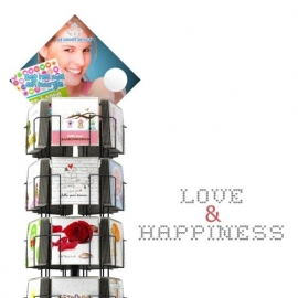 Love and Happiness 15x15 cm hele serie incl. display, topkaart, backcards
