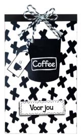 Tasje Koffie en Merci - 106 Voor jou