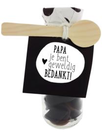 Snoepflesje 176 Papa je bent geweldig Bedankt! v.e. 3
