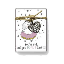doosje Jillz 105 tekst you're old, but you DONUT like it! v.e 3