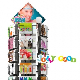 Jolly Good hele serie incl. display, topkaart, backcards