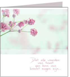 Condoleance & Troost 15x15 cm - Vak 123