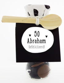 Snoepflesje 184 50 Abraham Gefeliciteerd! v.e. 3