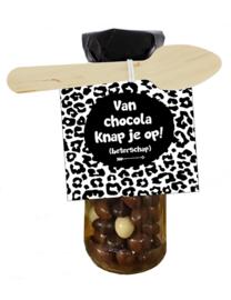Chocoflesje 106 van chocolade knap je op!  v.e 3 st