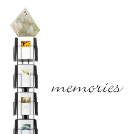 Memories hele serie incl. display, topkaart, backcards