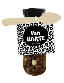 Chocoflesje 101 Van Harte v.e 3 st