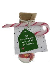 Kerst snoepflesjes 106 Een kleinigheidje voor onder de boom...  v.e 3