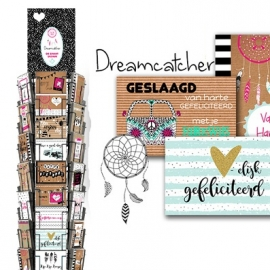 Dreamcatcher hele serie incl. display, topkaart, backcards