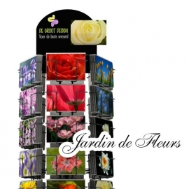 Jardin de Fleur hele serie incl. display, topkaart, backcards