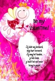 Valentijn 11x17 cm staand- Vak 139