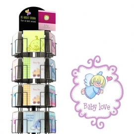 Baby Love hele serie incl. display, topkaart, backcards