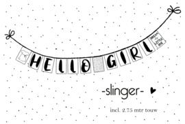 Tekstslinger 111 HELLO GIRL