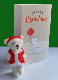 Cadeaudoosjes Kerst met Kerstbeertje 102