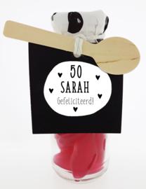 Snoepflesje 185 50 Sarah Gefeliciteerd! v.e. 3