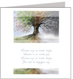 Condoleance & Troost 15x15 cm - Vak 124