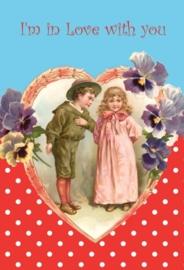 Valentijn 11x17 cm staand- Vak 121