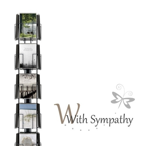 With Sympathy hele serie incl. display, topkaart, backcards