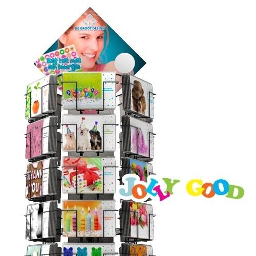 Jolly Good hele serie incl. display, topkaart, backcards
