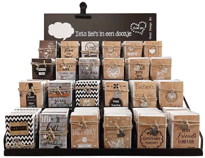 doosjes met zeepjes