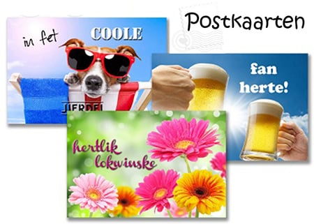Postkaarten Fries Degrootdesign