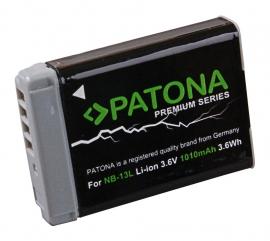 Accu voor Canon NB-13L / NB13L - 1010mAh Premium series Patona