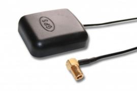 GPS antenne met magneetvoet en SMB stekker 90 graden
