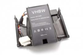 Accu batterij voor Wolf Garten R.S. 400 / R.S. 600 / BAT7000B - 3000mAh  25.6V Li-ion