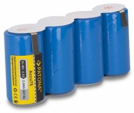 Accu batterij voor Gardena accu75 / accu 75  - 2000mAh