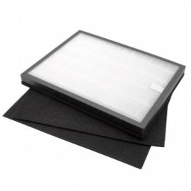 Hepa filter + 2x koolstoffilter voor Rowenta - XD6040F0 / H10 luchtreiniger