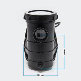 Zwembadpomp circulatiepomp  met voorfilter - 5000 l/u 220W