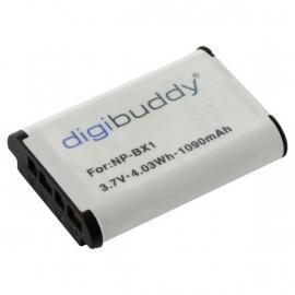 Accu voor Sony NP-BX1 NPBX1 1090mAh Digibuddy premium