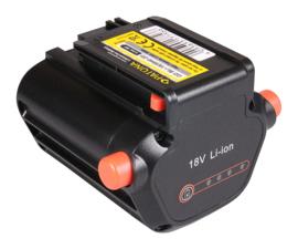 Accu batterij voor Gardena heggeschaar  TCS Li 18-20  /  Li 18-23 R  2000mAh