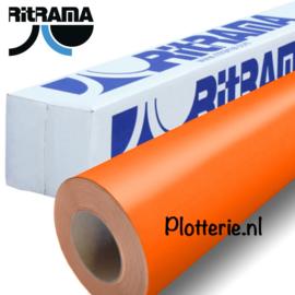 Oranje - Ritrama Fluor Vinyl - 30cm * 1m