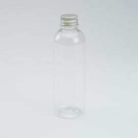 Plastic flesje met aluminium schroefdop - 100 ml