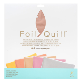 "We R Memory Keepers - Foil Quill Folie 12"" x 12"" - Shining Starling"