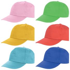 Volwassenen Caps (petjes) - in 14 kleuren leverbaar