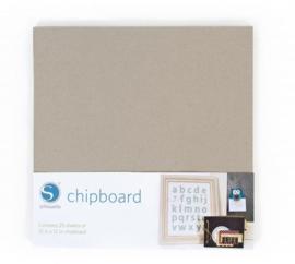 Grijs Karton | Chipboard - 25 vellen