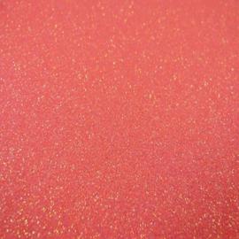 Koraal - Glitter Vinyl - A4 formaat - 21*30cm