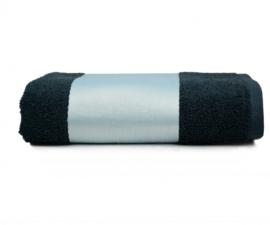 Handdoek (oa voor Sublimatie) - Zwart - 50 * 100cm