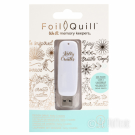 We R Memory Keepers - Foil Quill USB Art - Kelly Creates