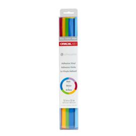 Oracal 651 Basic Vinyl Proefpakket - 6 vellen van 30,5*30,5cm - Silhouette